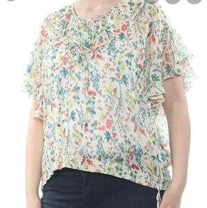 Jessica Simpson Floral  Top